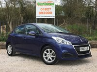 USED 2017 67 PEUGEOT 208 1.2 ACTIVE 5dr Air Con, Cruise, Alloys, 1 Own