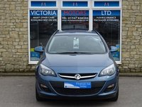 USED 2015 64 VAUXHALL ASTRA 1.6 CDTi Ecoflex Design [NAV] Turbo Diesel ESTATE