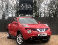 USED 2015 15 NISSAN JUKE 1.6 ACENTA PREMIUM XTRONIC 5dr AUTO 1 Year Parts & Labour Warranty