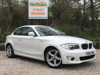 USED 2012 62 BMW 1 SERIES 2.0 118D EXCLUSIVE EDITION 2dr Heated Leather, Privacy, FSH