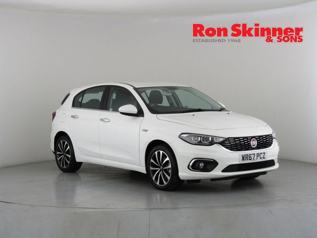 View our 2017 67 FIAT TIPO 1.4 LOUNGE 5d 94 BHP