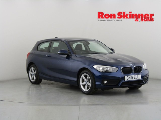 View our 2016 16 BMW 1 SERIES 1.5 116D SE 3d 114 BHP
