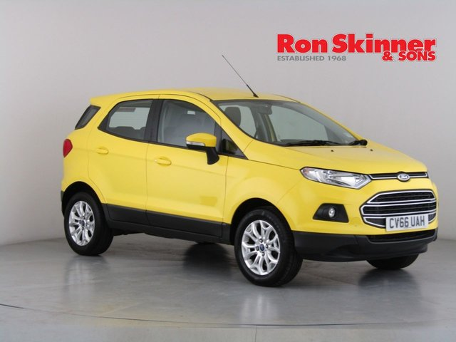 View our 2016 66 FORD ECOSPORT 1.0 ZETEC 5d 124 BHP
