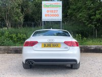 USED 2016 16 AUDI A5 2.0 TDI QUATTRO S LINE 3dr Sat Nav, Heated Leather, PDC