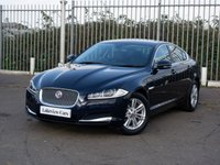 USED 2014 64 JAGUAR XF 2.2 D LUXURY 4d AUTO 163 BHP