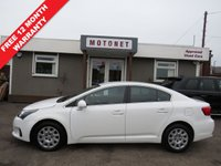 USED 2012 62 TOYOTA AVENSIS 2.0 D-4D T2 4DR SALOON DIESEL 124 BHP +++APRIL SALE NOW ON+++