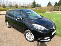 2013 RENAULT GRAND SCENIC 1.5 DYNAMIQUE TOMTOM ENERGY DCI S/S 5d 110 BHP Full Renault History  £6749.00