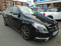 USED 2013 63 MERCEDES-BENZ B-CLASS 1.8 B200 CDI BLUEEFFICIENCY SPORT 5d AUTO 136 BHP GREAT FINANCE DEALS AVAILABLE