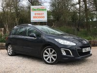 USED 2013 62 PEUGEOT 308 SW 1.6 E-HDI SW ACTIVE 5dr Great Spec, Pan Rood, PDC