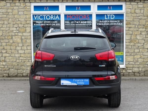 KIA SPORTAGE at Victoria Motors Ltd