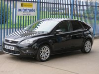 USED 2010 10 FORD FOCUS 1.6 ZETEC 5d 100 BHP Finance arranged Part exchange available Open 7 days