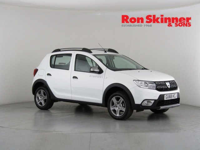 View our 2018 68 DACIA SANDERO 0.9 STEPWAY COMFORT TCE 5d 90 BHP