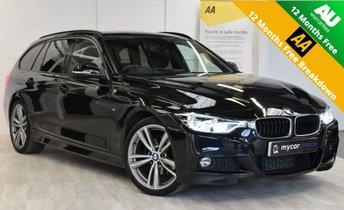 2017 BMW 3 SERIES 2.0 320D M SPORT TOURING 5d AUTO 188 BHP £16995.00