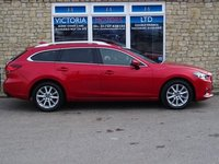 USED 2014 14 MAZDA 6 2.2d SE-L Nav [£20 TAX] Turbo Diesel ESTATE
