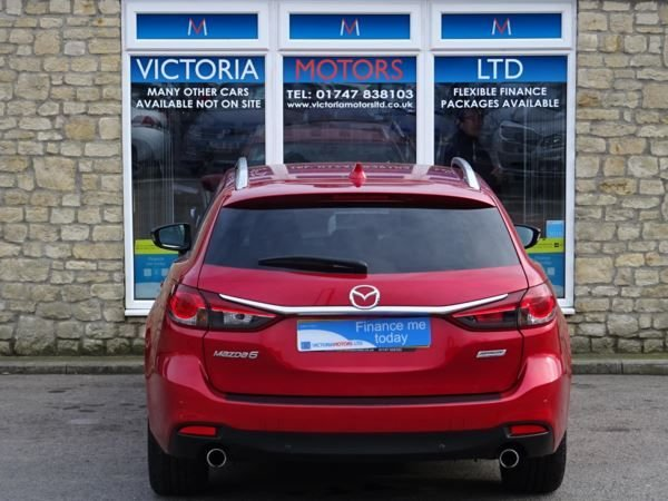 MAZDA 6 at Victoria Motors Ltd