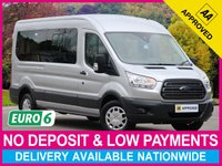 USED 2017 66 FORD TRANSIT 2.2 TDCI EURO 6 TREND 15 SEAT MINIBUS LWB 410 L3H2 AIR CON 15 SEAT MINIBUS AUTO SIDE STEP AIR CONDITIONING CRUISE