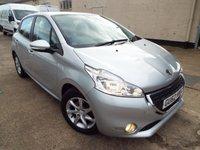 2012 PEUGEOT 208 1.2 ACTIVE 5d 82 BHP £4290.00