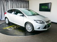 USED 2014 14 FORD FOCUS 1.0 ZETEC 5d 124 BHP £0 DEPOSIT FINANCE AVAILABLE, AIR CONDITIONING, BLUETOOTH CONNECTIVITY, CLIMATE CONTROL, DAB RADIO, FORD SYNC WITH VOICE CONTROL, QUICK CLEAR HEATED WINDSCREEN, START/STOP SYSTEM, TINTED WINDOWS, TRIP COMPUTER, USB INPUT