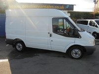 2013 FORD TRANSIT 2.2 280 SHORT WHEEL BASE SEMI HI ROOF  FITTED WITH AIR CON  FULL LEX PRINT OUT SERVICE HISTORY CAT 1 MAPLE ALARM IMMOBILISER    £SOLD