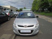 2012 HYUNDAI I20 1.2 CLASSIC 3d 77 BHP £3495.00