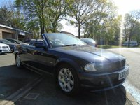 USED 2001 51 BMW 3 SERIES 2.2 320CI 2d AUTO 168 BHP GREAT VALUE CONVERTIBLE + MOT JAN 20