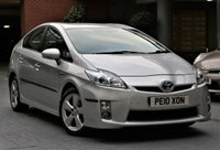 2010 TOYOTA PRIUS 1.8 T SPIRIT VVT-I 5d AUTO 99 BHP £6990.00