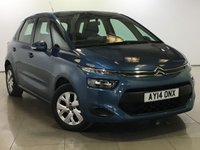 USED 2014 14 CITROEN C4 PICASSO 1.6 HDI VTR 5d 91 BHP 1 OWNER | BLUETOOTH | AIR CON