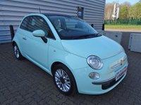 2014 FIAT 500 1.2 LOUNGE 3d 69 BHP £5190.00