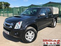 USED 2011 61 ISUZU RODEO 2.5 TD RODEO DENVER DCB 1d 135 BHP ONE OWNER FSH (COMMERCIAL 5400+1080). 4WD. STUNNING BLACK MET WITH GREY CLOTH TRIM. IFOR WILLIAMS CANOPY. AIR CON. 16 INCH ALLOYS. COLOUR CODED TRIMS. PAS. R/CD PLAYER. MOT 02/20. ONE OWNER FROM NEW. FULL SERVICE HISTORY. PICK-UP & VAN CENTRE- LS24 8EJ. TEL 01937 849492 OPTION 3