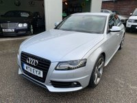 USED 2011 11 AUDI A4 2.0 TDI Black Edition 4dr FULL SERVICE HISTORY