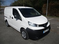 USED 2016 16 NISSAN NV200 1.5 DCI ACENTA 1d 90 BHP WAS £8,495 NOW ONLY £7,995 NO VAT  !!