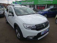 USED 2017 67 DACIA SANDERO 0.9 STEPWAY AMBIANCE TCE 5d 90 BHP **JUST ARRIVED...**ONLY 9,000 MILES FROM NEW...NO DEPOSIT DEALS...01543 877320