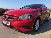 USED 2013 63 MERCEDES-BENZ A-CLASS 1.6 A180 BLUEEFFICIENCY SE 5d 122 BHP