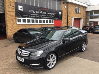 2011 MERCEDES-BENZ C-CLASS 2.1 C220 CDI BLUEEFFICIENCY SPORT 4d AUTO 168 BHP £7795.00