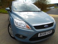 USED 2008 08 FORD FOCUS 1.6 STYLE 5d 100 BHP ** ONE PREVIOUS OWNER , YES ONLY 57K, SUPERB VEHICLE THROUGHOUT **