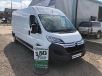 2016 CITROEN RELAY 2.2 35 L3H2 ENTERPRISE HDI 129 BHP AIR CON 1 OWNER FROM NEW  £8995.00
