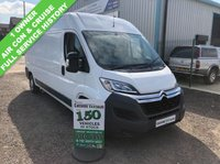 USED 2016 16 CITROEN RELAY 2.2 35 L3H2 ENTERPRISE HDI 129 BHP AIR CON 1 OWNER FROM NEW  1 OWNER FROM NEW FULL SERVICE HISTORY