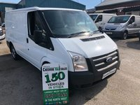 2013 FORD TRANSIT 2.2 T300 100BHP 1 OWNER FROM NEW AIR CONDITIONING CHOICE OF 2  £5995.00
