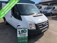 USED 2013 13 FORD TRANSIT 2.2 T300 100BHP 1 OWNER FROM NEW AIR CONDITIONING CHOICE OF 2  1 OWNER FROM NEW AIR CONDITIONING CHOICE OF 2