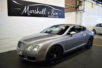 USED 2005 05 BENTLEY CONTINENTAL GT 6.0 GT 2d AUTO 550 BHP SIMPLY STUNNING EXAMPLE - LOW MILES - LOW OWNERS - 11 BENTLEY SERVICE STAMPS + PRE DELIVERY JUST DONE