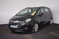 USED 2015 65 VAUXHALL ZAFIRA TOURER 1.4 EXCLUSIV 5d AUTO 138 BHP