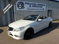 USED 2010 02 MERCEDES-BENZ E-CLASS 1.8 E200 CGI BLUEEFFICIENCY SPORT 2d 184 BHP