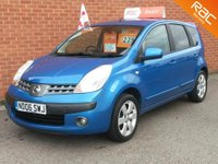 2006 NISSAN NOTE 1.6 SVE 5 DOOR  - LOW MILES - FAMILY OWNED £2495.00