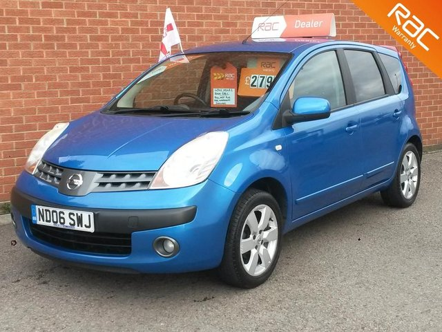 2006 06 NISSAN NOTE 1.6 SVE 5 DOOR  - LOW MILES - FAMILY OWNED