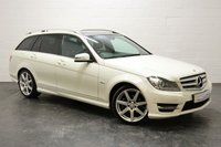 USED 2011 61 MERCEDES-BENZ C-CLASS 2.1 C200 CDI BLUEEFFICIENCY SPORT 5d AUTO 135 BHP RETRACTABLE PANORAMIC ROOF