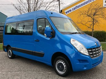 2011 RENAULT MASTER MM33 DCI 100 WAV MINIBUS-ADAPTED-DISABLED Low Mileage Free UK Delivery £11950.00