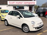 USED 2012 12 FIAT 500 1.2 Lounge