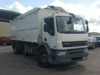 USED 2009 59 DAF TRUCKS LF 6.7 FA55.220 18T EURO 4 225 BHP REFUSE/ RECYCLING TRUCK SIDE AND REAR BIN LIFT+1 OWNER