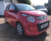 USED 2016 16 CITROEN C1 1.0 FEEL 5d 68 BHP