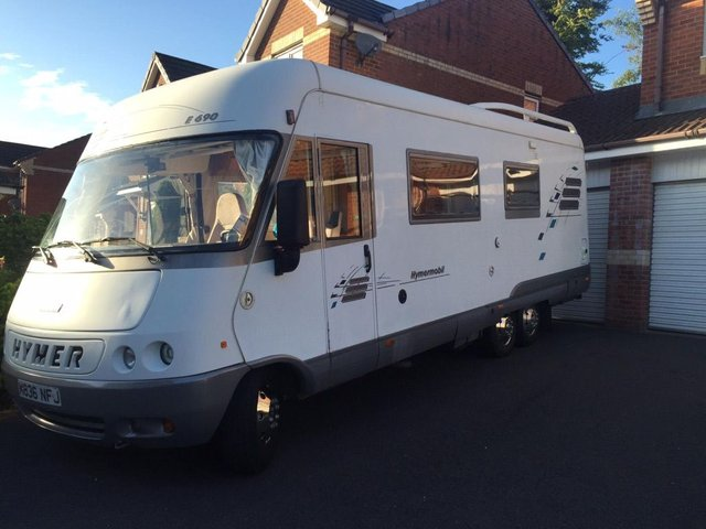 1995 R HYMER HYMER MOBILE E690 // (Fiat Ducato) 2.5TDi // Tag Axel // Motorhome // Camper // px Swap